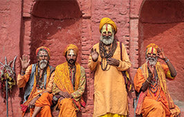 Saffron color in Hinduism
