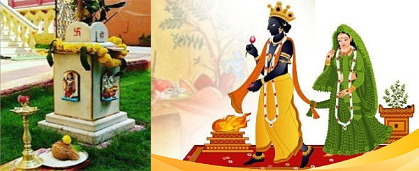 Tulsi Vivaah - marriage of Tulsi plant with Lord Vishnu