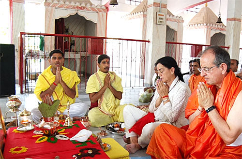 What is Yajamana in a Puja