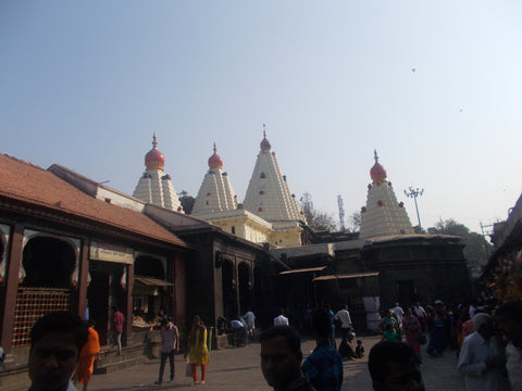 Pujas at Mahalakshmi temple, Kolhapur