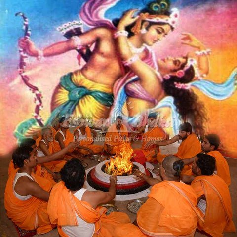 Attraction pooja yagna ritual