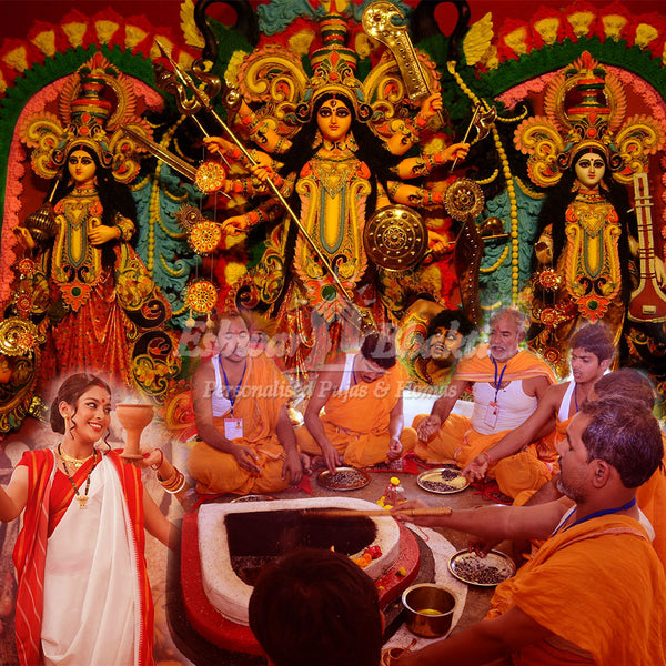Durga puja booking