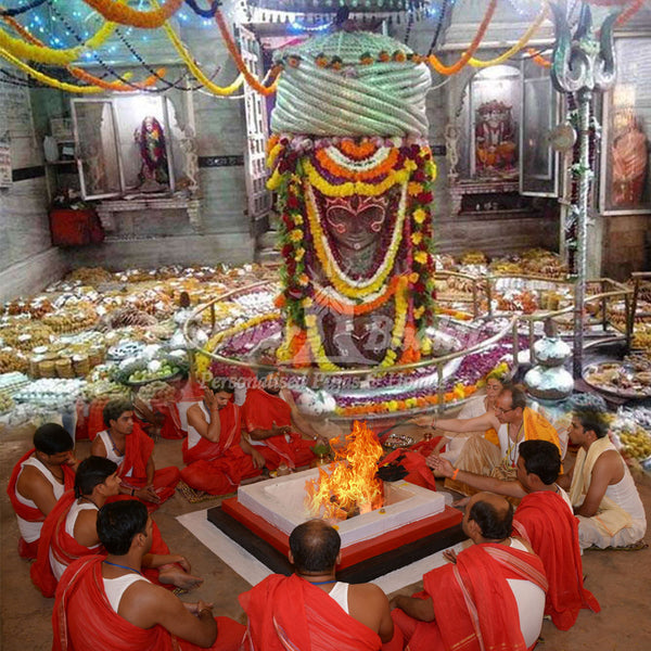 Pujas at Pashupatinath temple, Mandsaur