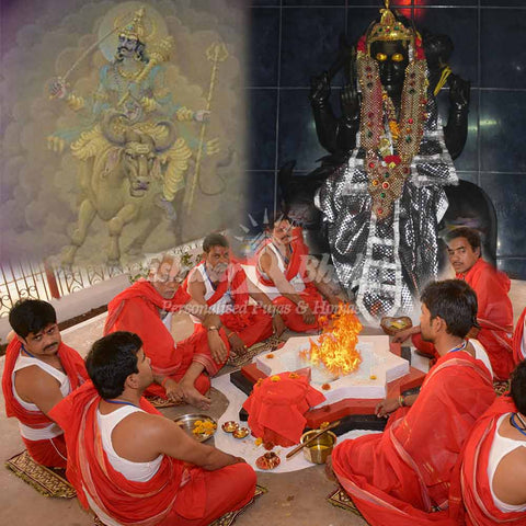 Saturn (Shani) planet puja yagya