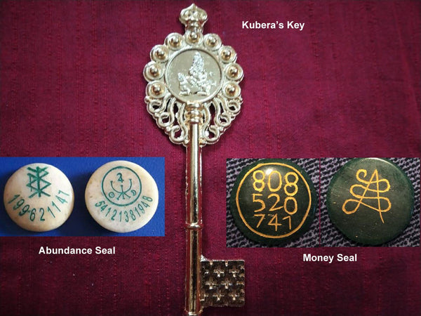 Wealth Manifestation Talismans