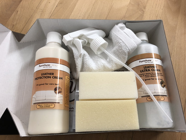 Ultimate Leather Care Kit - Læderplejesæt