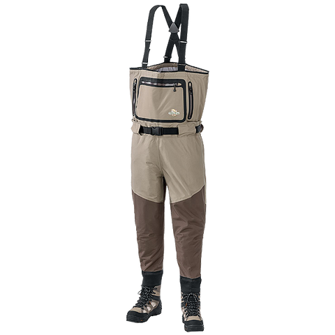 White River Fly Shop Extreme Steelhead Waders with Korkers Boots for Men