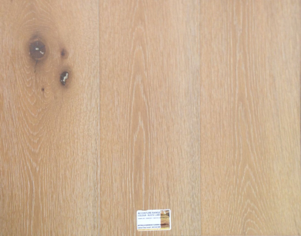 15mm/4mm Engineered Timber - Rustic Lime Wash