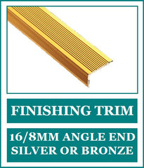 Finishing Trim 16/8mm Angle End