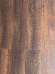 12mm Laminate Flooring - Dark Rustic Oak