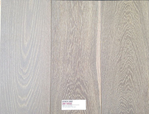 Definitive Range - Driftwood - 15mm/4mm Engineered Timber - Price per square metre - $78.00