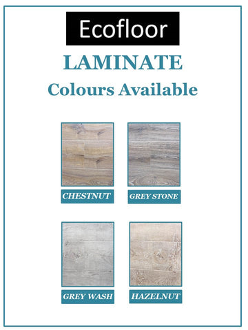 EcoFloor - Chestnut - 12mm Laminate - Price per square metre - $29.95