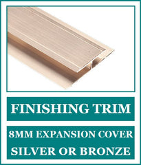 Finishing Trim 8mm - Expansion Joint Cover