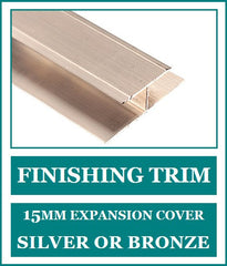 Finishing Trim 15mm - Expansion Joint Cover