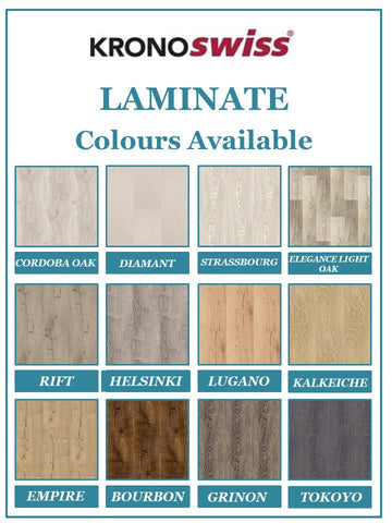 KronoSwiss Noblesse Collection - Lugano Oak - 8mm Laminate - Price per square metre - $29.90