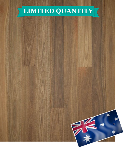** LIMITED STOCK ** Floor Art - Spotted Gum - 1 Strip - 14.2mm Engineered Timber - Price per Square Metre - $87.00