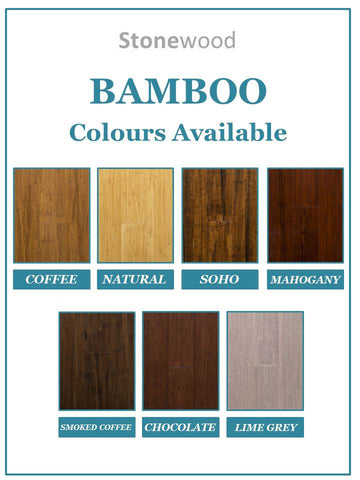 Stonewood - Coffee - 14mm Bamboo - Price per square metre - $54.00
