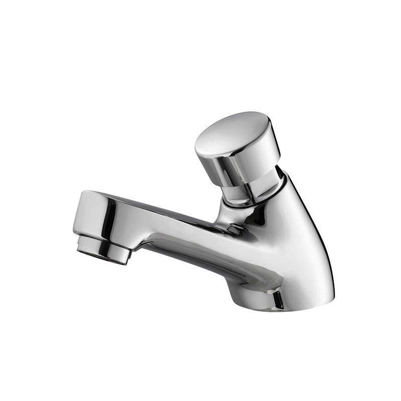 Delay cold water faucet