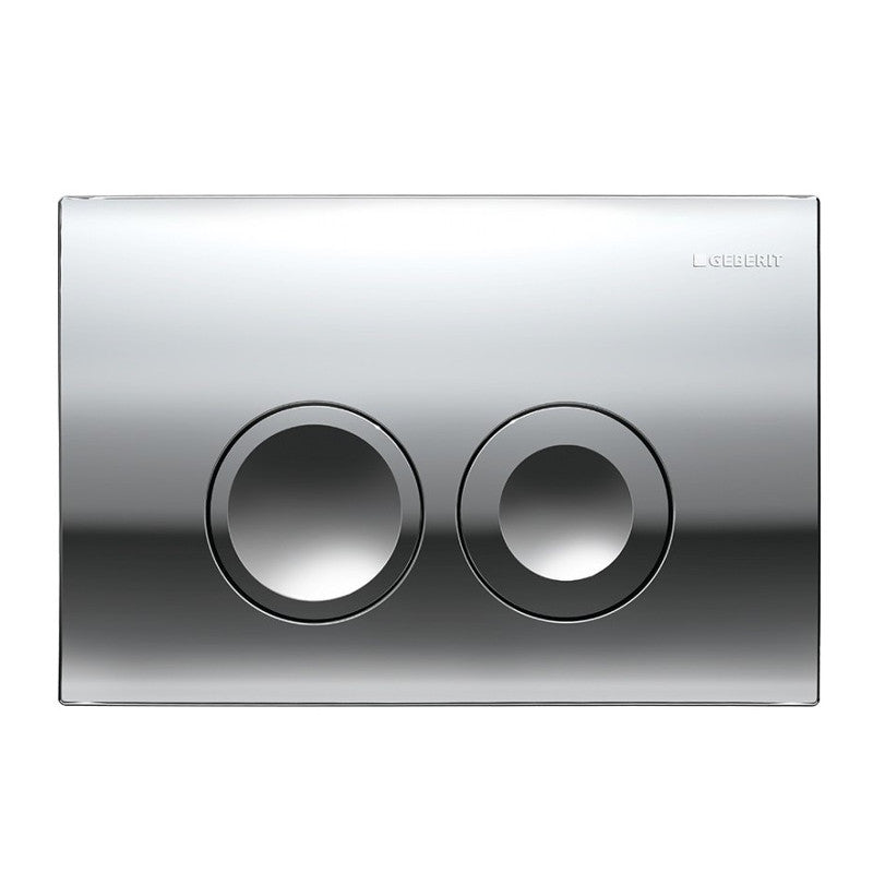 Geberit Delta 21 Flush Actuator Plate Gloss Chrome