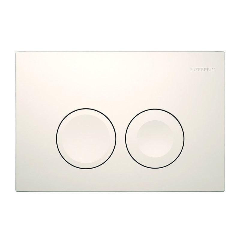 Geberit Delta 21 Flush Actuator Gloss White