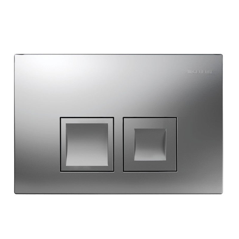 Geberit Delta 50 Flush Actuator Plate Matt Chrome