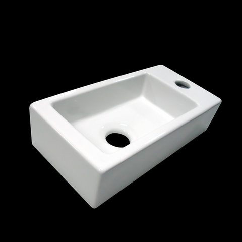 Fountain Ceramic sink 'Mini-Block'