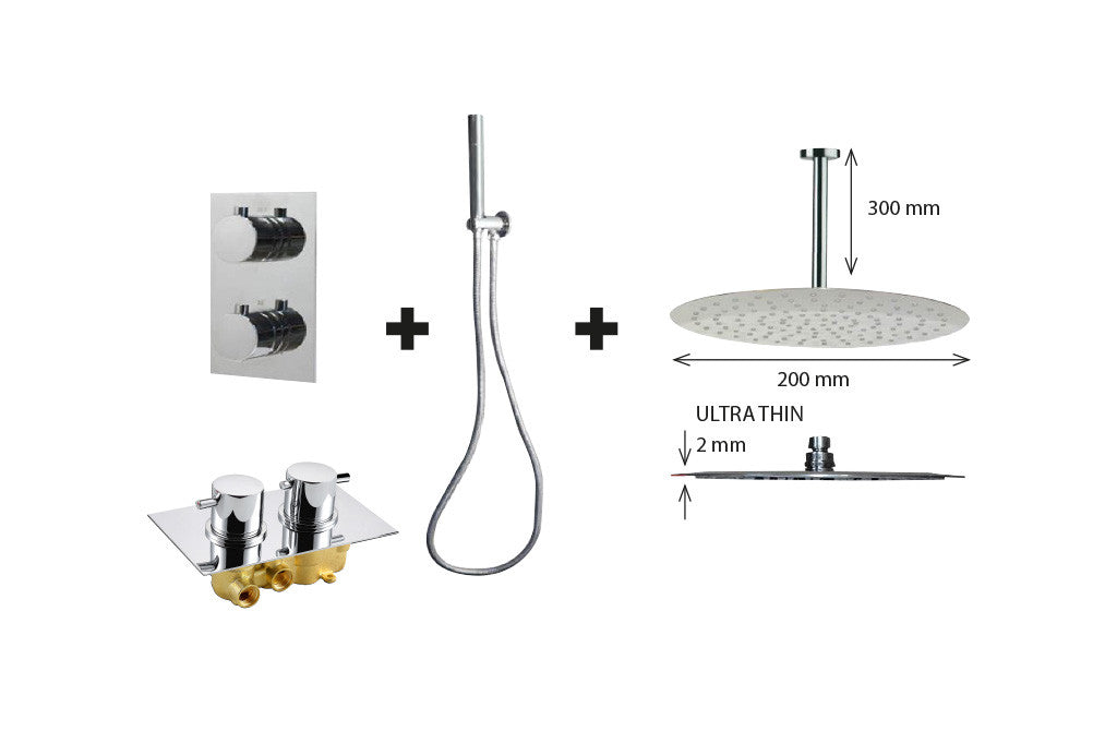 One Pack New Milano P-200 Shower Set