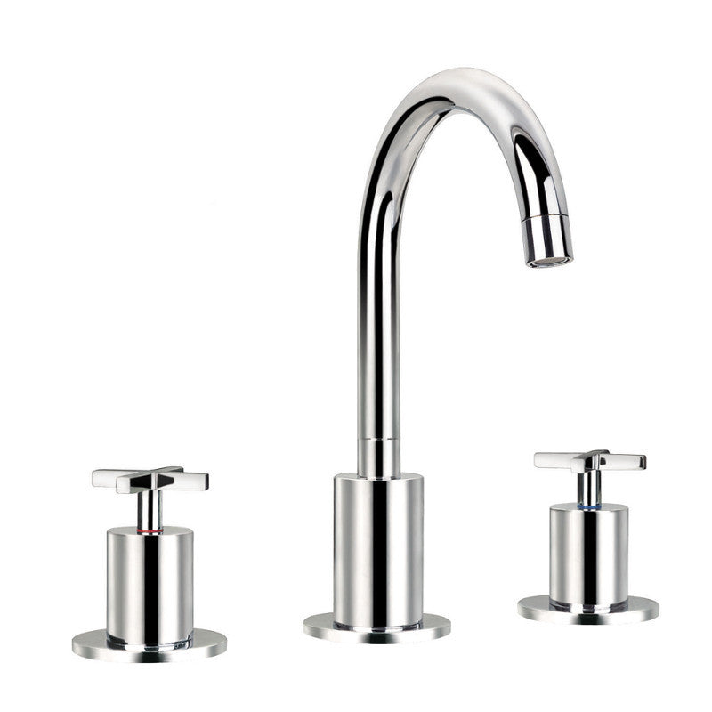 New Jax 3 Hole Standing Basin Mixer Tap
