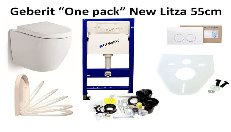 NewLitza toilet complete One-Pack set
