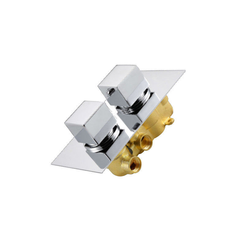 New Quadro 2-way Built-In Thermostatic Tap