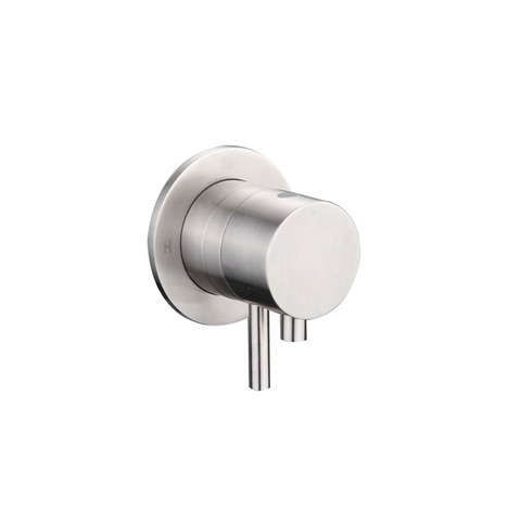 'Ore Built-in Central Thermostatic' Stainless Steel Tap