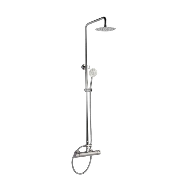 Stainless Steel Thermostatic Wall Mount Shower