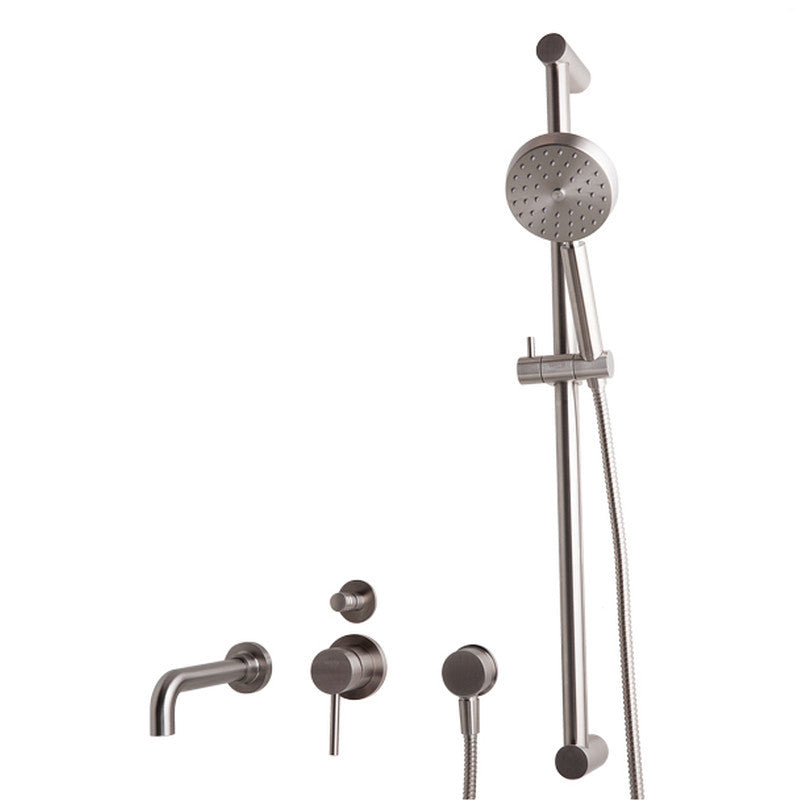 Sento Stainless Steel Built-in Bath Mixer Tap