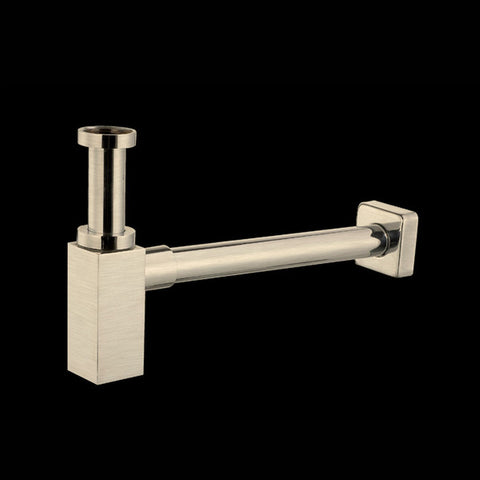 'Square' Design Siphon Stainless Steel Look