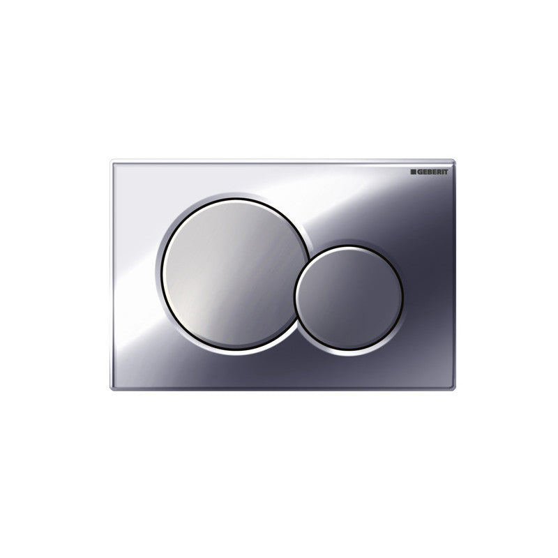 Geberit Sigma01 Flush Actuator Plate Gloss Chrome