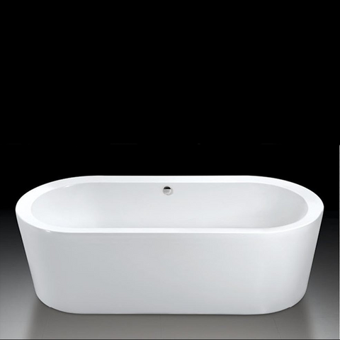 Design Free Standing Acrylic Bath 'Sique'