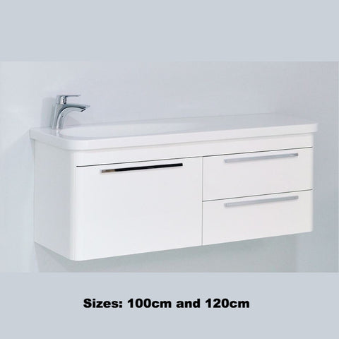 'Surf' Vanity and Sink