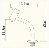 Swing Lavatory Faucet Spec Sheet