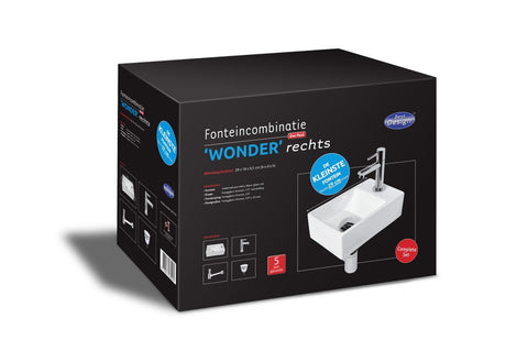 Fountain One Pack 'Wonder Right'