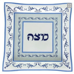 Matzah Plate for Passover Pesach Seder Meal