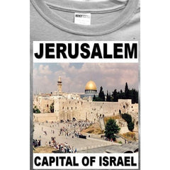 Jerusalem Capital Of Israel T-Shirt