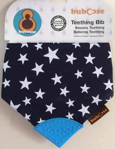 Chewing Bibs Blue Stars & Stripes - 2 Pack
