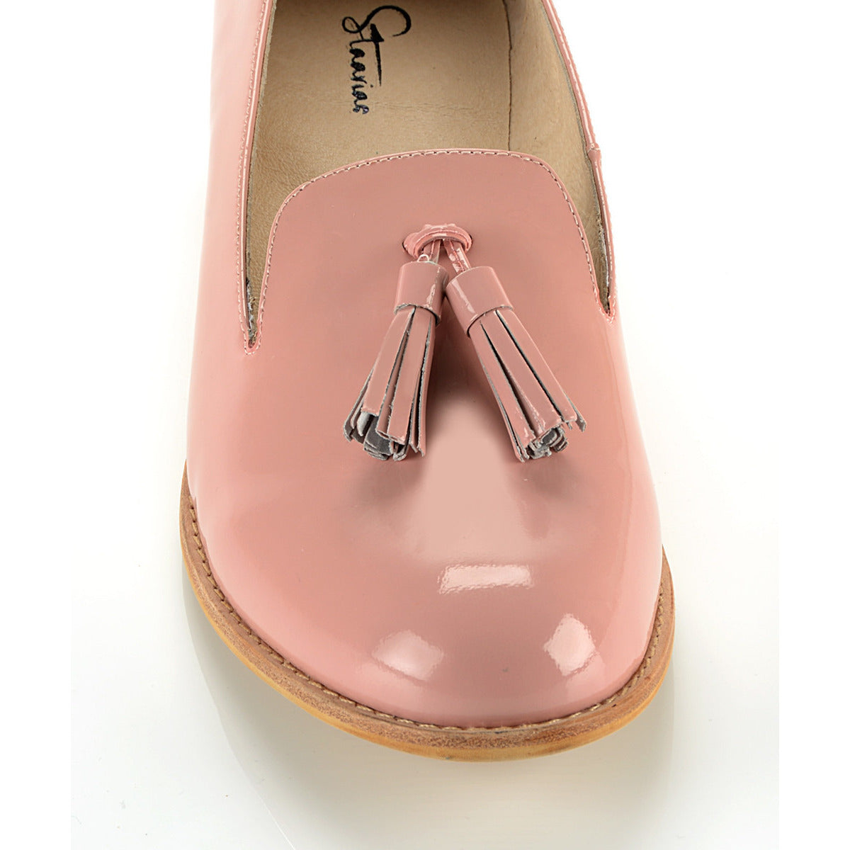 Pink Patent Slip On *NARROW FIT*