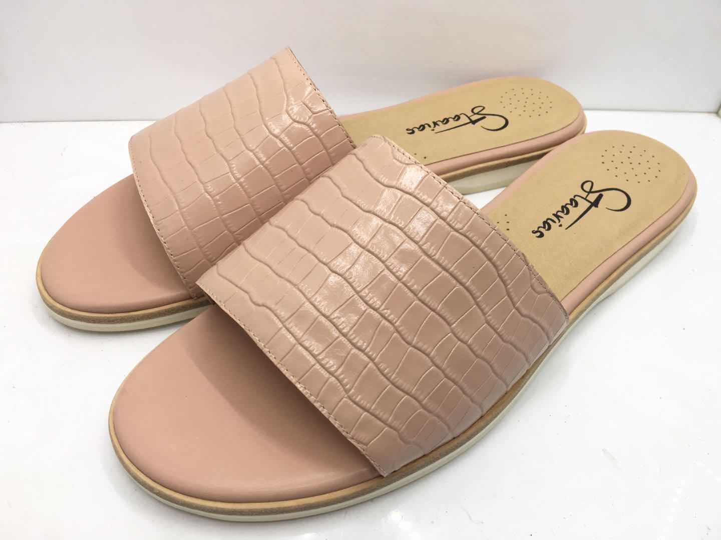 Lily Pink Nude Croc