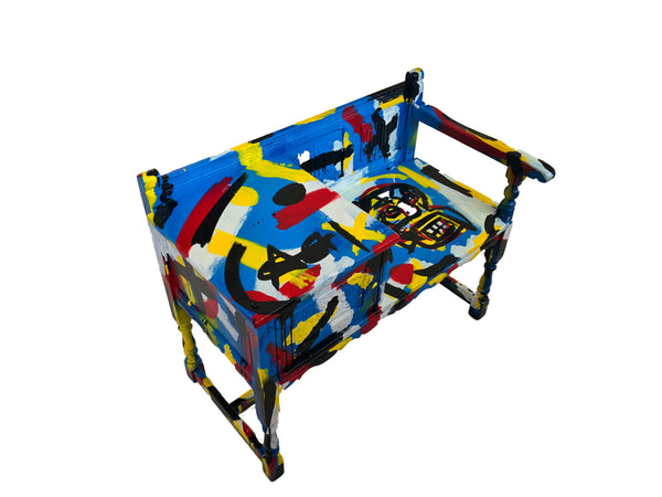 Basquiat Vintage Phone Chest
