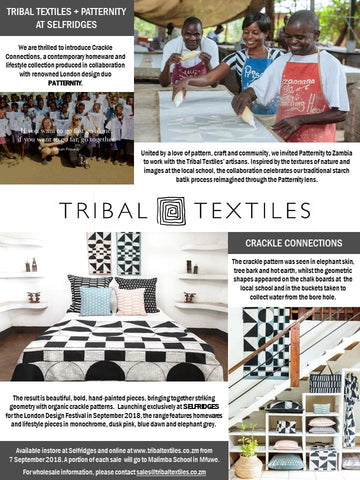 Patternity x Tribal Textiles