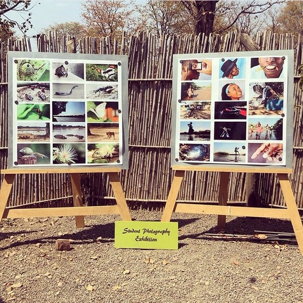 Chipembele Wildlife Education Trust Student Photo Exhibition at Tribal Textiles Zambia South Luangwa