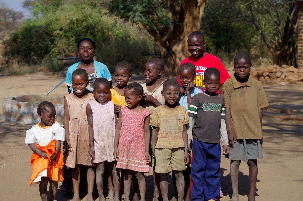 10 orphans living on site