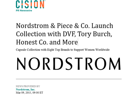 Nordstrom x Piece and Co