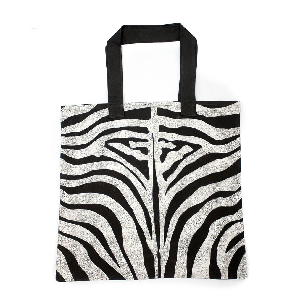 Handmade Bag with Contemporary zebra design